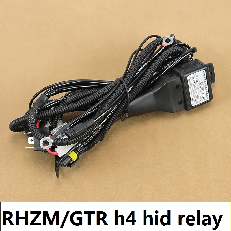 Wholesale Hid Xenon Accessories H4 Relay Harness Hi/low Xenon H4 Hid on