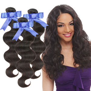 Cuticle Aligned Mongolian Hair Russian Virgin Hair Body Wave Human Hair