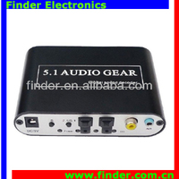 SPDIF Coaxial Digital Audio 5.1 decoder ac3 dts digital audio decoder 5.1 / 5.1 analog media player