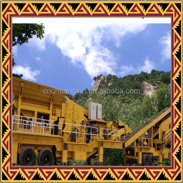30-350TPH mobile concrete crusher plants, aggregate mobile stone crusher price