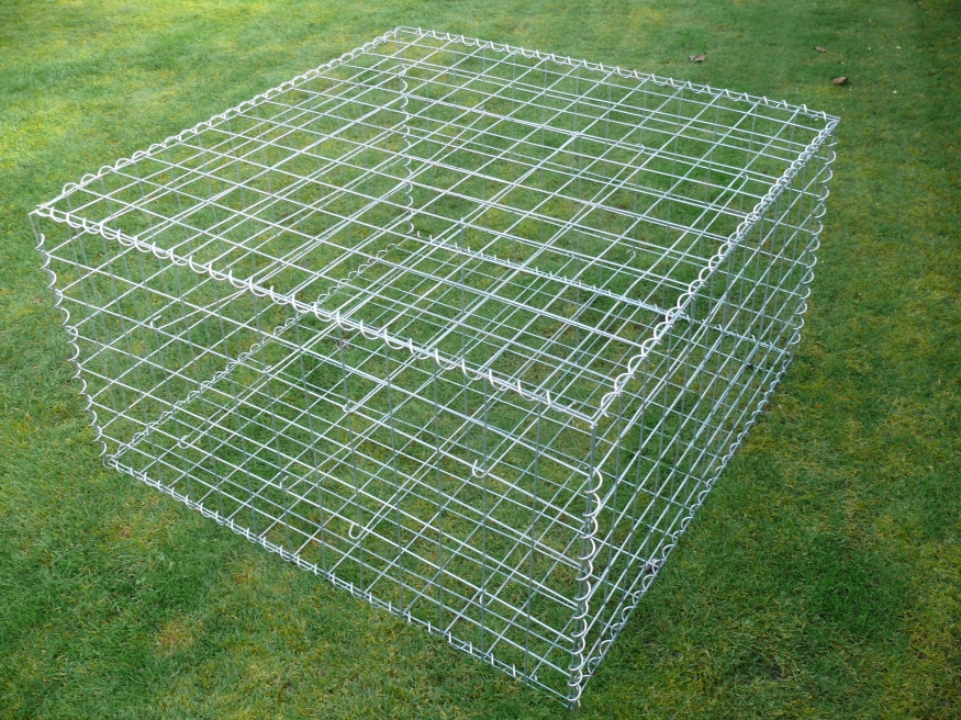 Double wire Welded Gabion Baskets For Sale