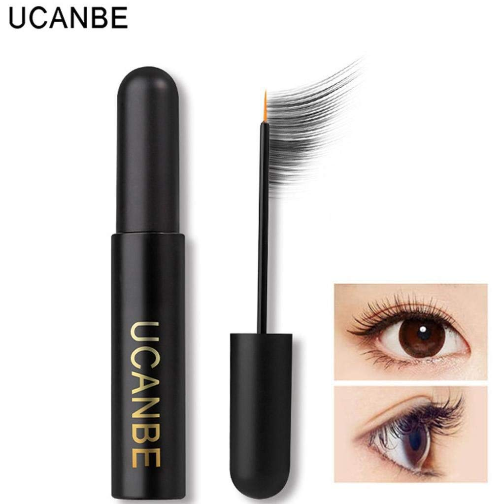 f665e8474ce Get Quotations · Hunputa Best Natural Eyelash Eyebrow Growth Serum Oil - Grow  Longer, Thicker Eyelashes with this