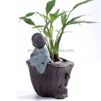 Dekorasi Rumah Kreatif Pot Bunga Dalam Ruangan Ruang Tamu Buddha