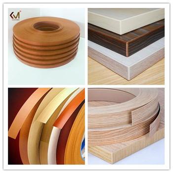 Decorative Metal 1mm Pvc Edge Banding For Furniture
