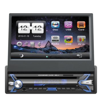 simple din lecteur dvd de voiture cran tactile autoradio avec cam ra de recul audio de. Black Bedroom Furniture Sets. Home Design Ideas