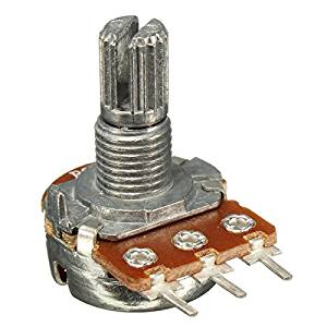 BephaMart 5pcs WH148 20K Ohm B20K Knurled Shaft Linear Single Amplifier Potentiometer Shipped and Sold by BephaMart