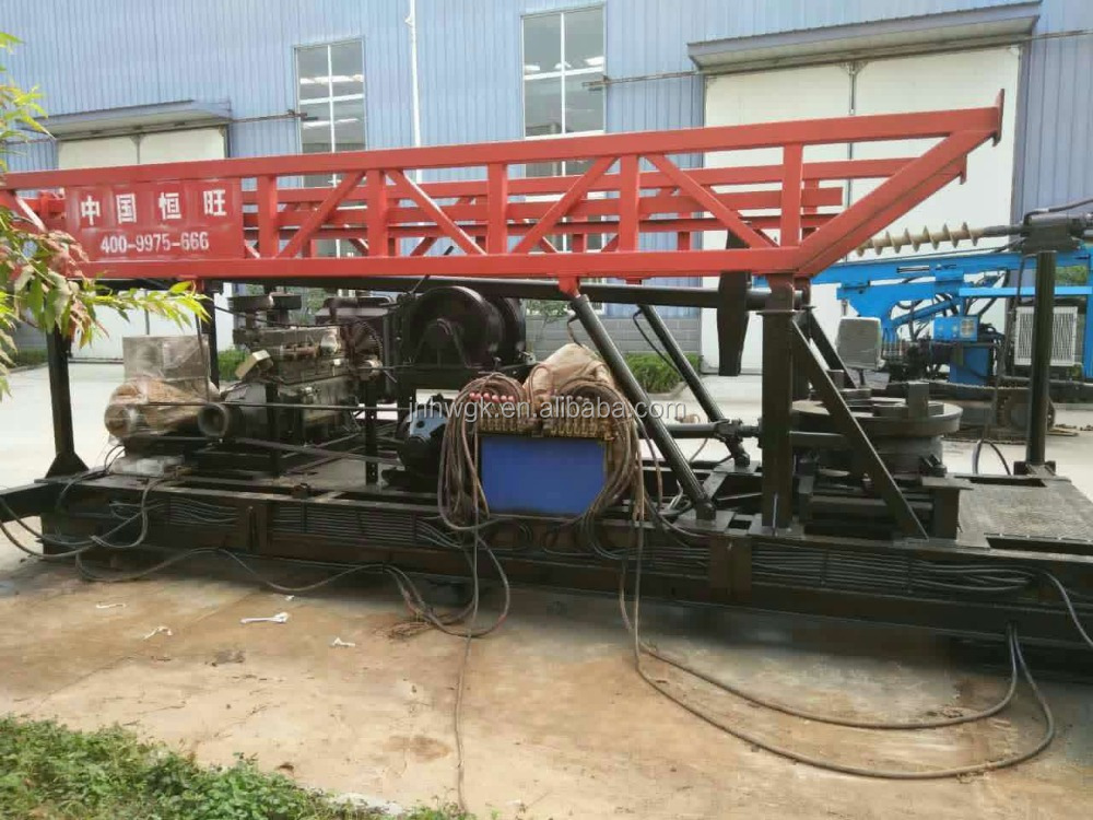 High quality Disc water well drilling rig with hoist