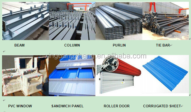 low cost prefab warehouse / cn warehouse for sale