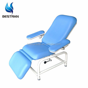 BT-DN008 Arm rest Hospital recliner manual blood collection chair