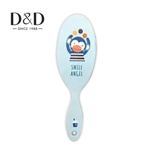 baby private label paddle color dye gift set custom logo korea magic hair brush with high quality