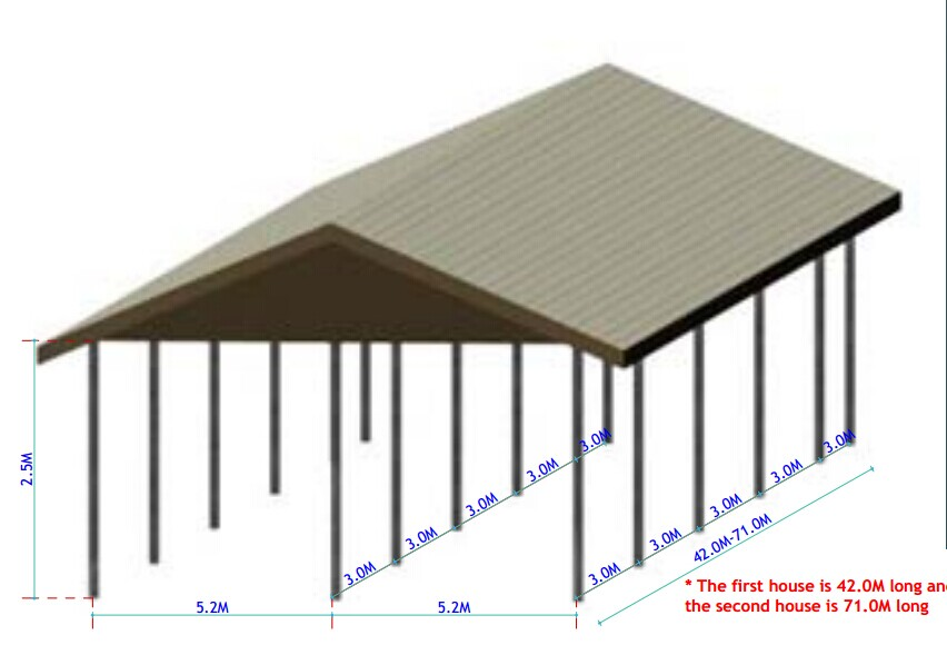 design modern chicken farm for layer hen egg buy design