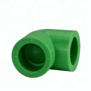 PPR Fittings 45 Degree Elbow green