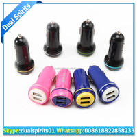 universal Dual 2 Port USB Car Charger For iPhone iPad iPod for Samsung Galaxy S7 S6 Edge 3.1A Mini Car Charger Adapter for iPad