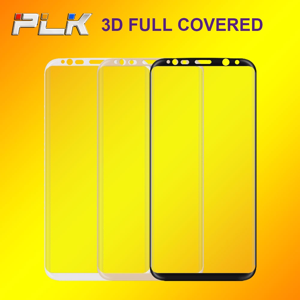 2017 New Products Retail Packaging 3D Full Covered Curved Edge Screen Protector, 9H Screen Ward For Samsung S6 edge/S7 edge#