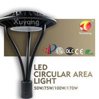 Driverless Modular Cob Led Street Light 50w to 170w post top lantern
