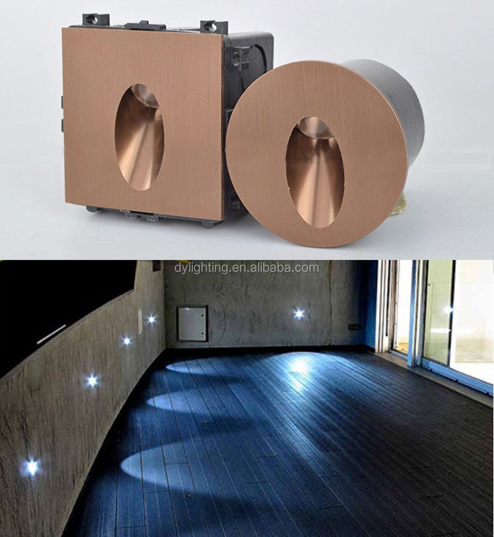 Ip65 Led Recessed Mount Wall Light Exterior Step Lights