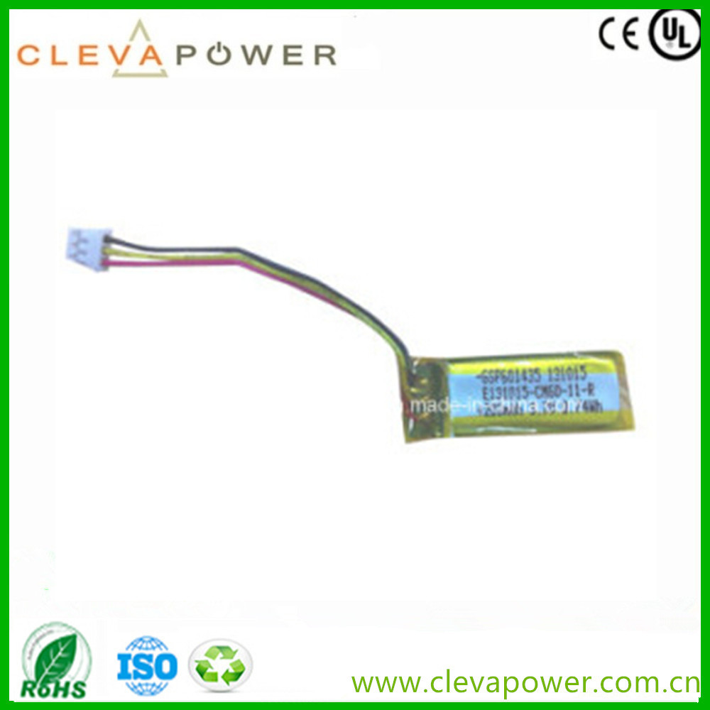 Lithium Polymer Battery Cell for GPS Navigator