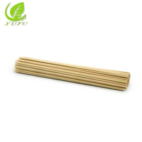 Wholesale bbq grill tools 5.0*160mm barbecue stick wooden skewer