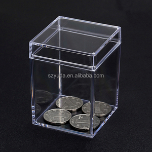 Plastic Food Storage Container Clear Flush Lid Boxes
