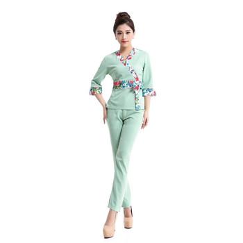 Wholesale woman thai spa uniforms buy thai spa uniform for Uniform thai spa