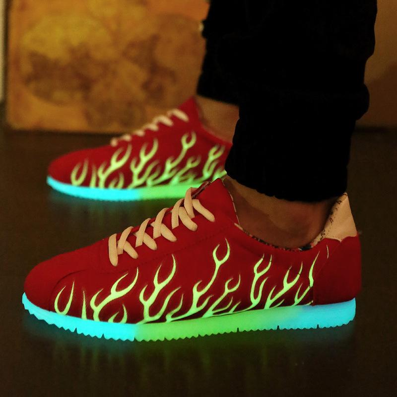 35902c1d9ba2 DDD05 Adult 2016 Summer Light Up Adult Shoes Casual Luminous Shoes for Men  Luxury Shoes