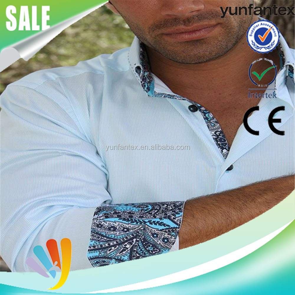 good quality cotton formal shirt for man 2016