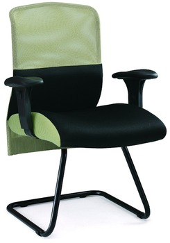 200 Series Office Furniture Mesh Chair Visitor W Back Support