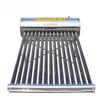 Solar water heater heating system