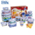 EASYLOCK BPA Free Airtight Kitchen Fridge Microwave Dry Food Storage Container Set