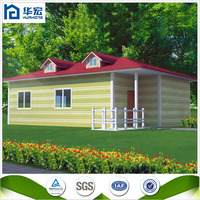 Real Estate safe and durable light steel frame cheap prefabricated homes
