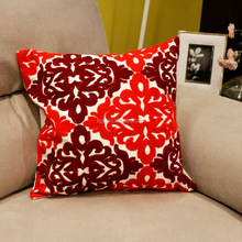 picasso cushion cover applique work cushion cover