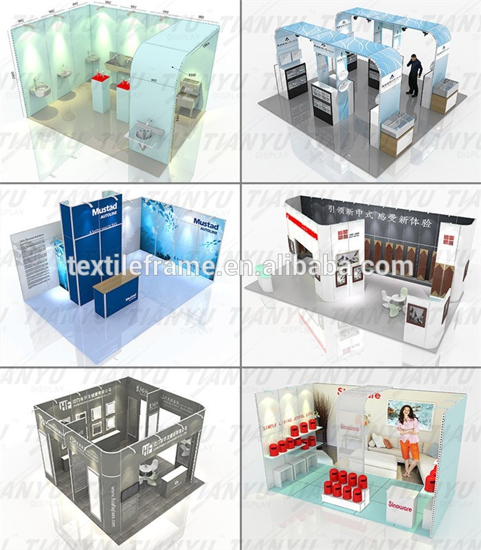 Exhibition Booth Equipment : New ideas aluminium extrusion exhibition booth trade show