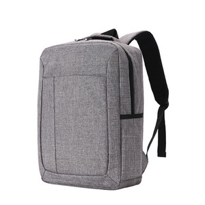 Hot selling blue black gray slim business laptop computer backpack