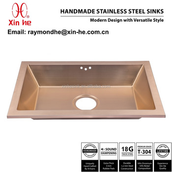 Pvd Copper Brass Gold Plated Bathroom SinkCommercial Stainless - Commercial bathroom sinks stainless steel