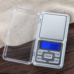 Mini CX-668 500x0.01 LCD Gram Digital Pocket Scale For Gold