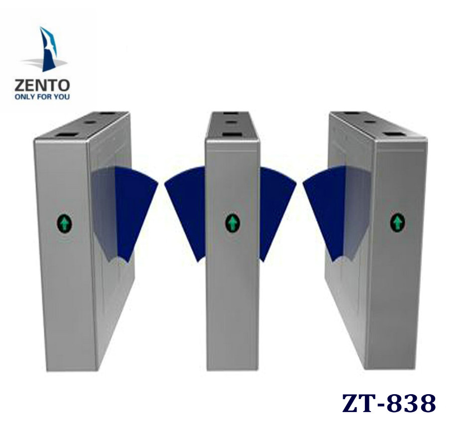 Induction electronic security supermarket barrier gate swing gate and turnstile 0.05MM tickness