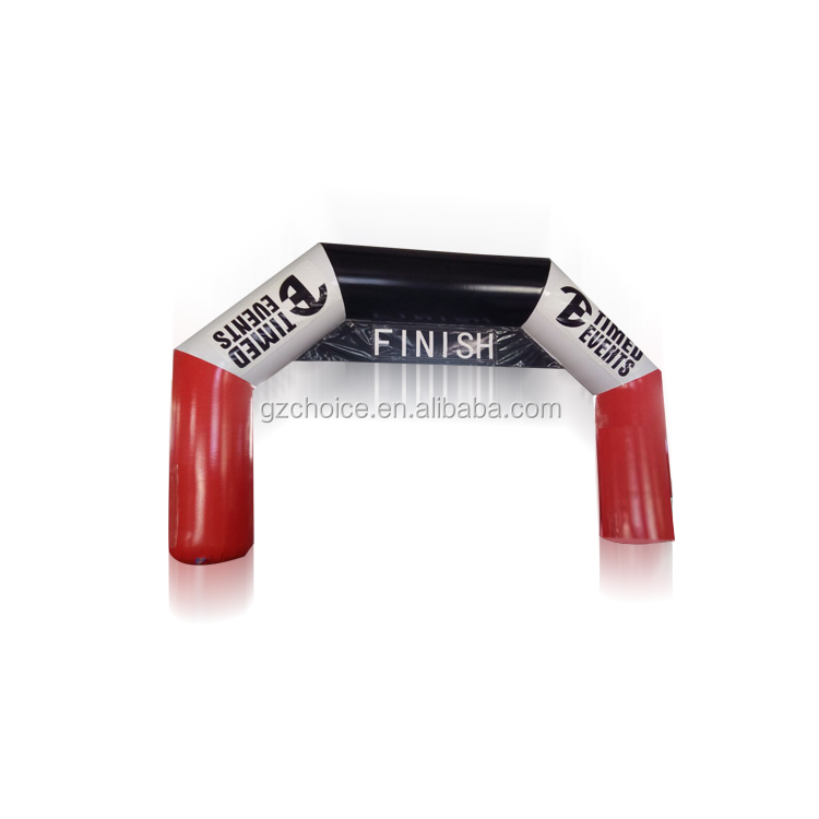China Manufacturer Low Price PVC Custom Inflatable Finish Line Arch Custom Inflatable