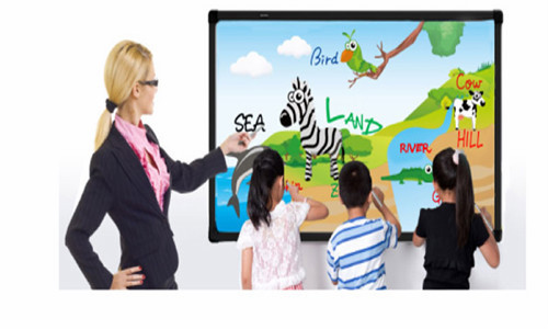 85 inch Optical Interactive Electric Whiteboard Aluminum HoneyComb smart interactive whiteboard for meeting and training