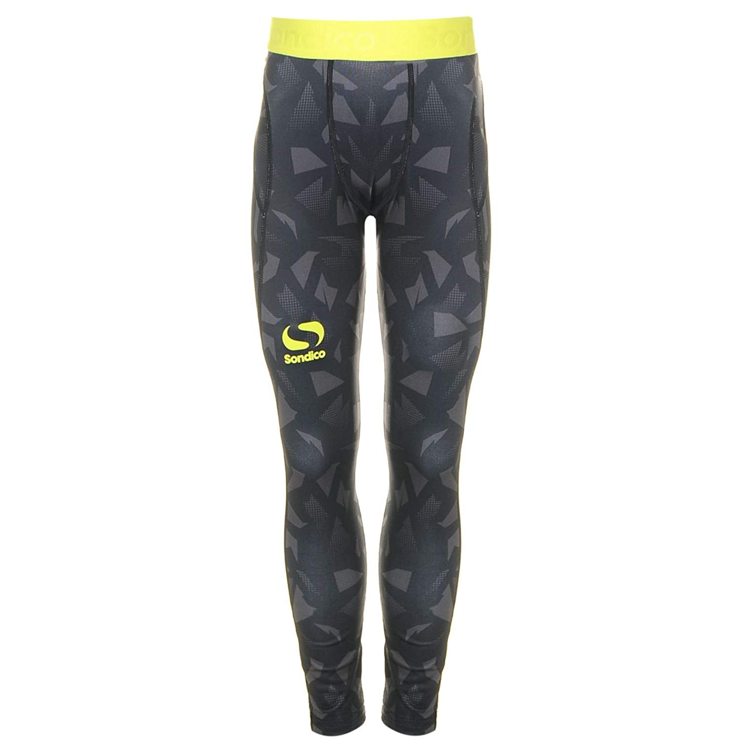 0984d6965b Get Quotations · Sondico Kids Boys Blaze Tights Junior Baselayer Pants  Trousers Bottoms