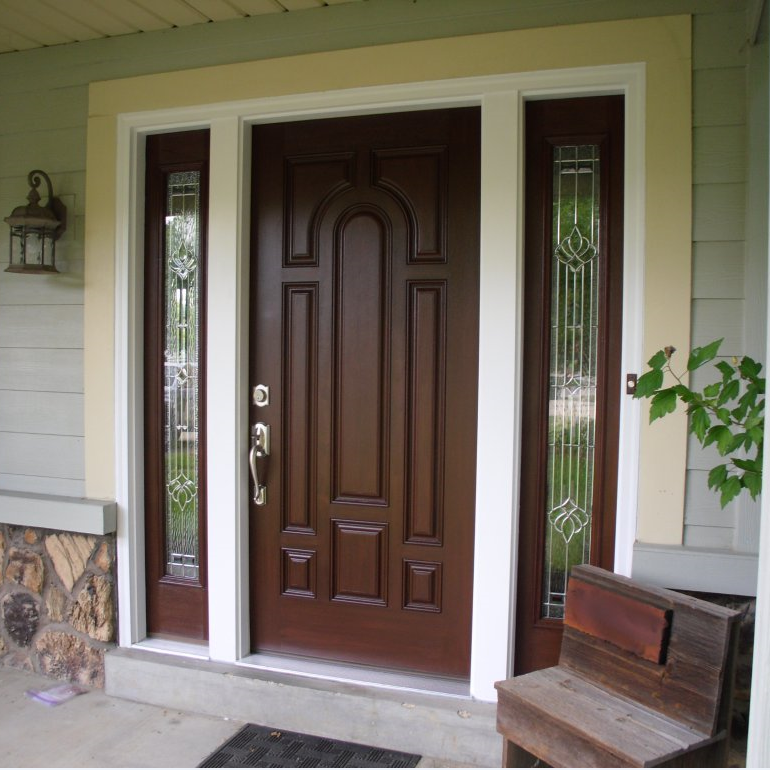 Back Entry Solid Oak Doors Exterior Back Doors With Glass Buy Back