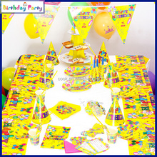 2016 colorful balloons theme party decorations for kids birthday