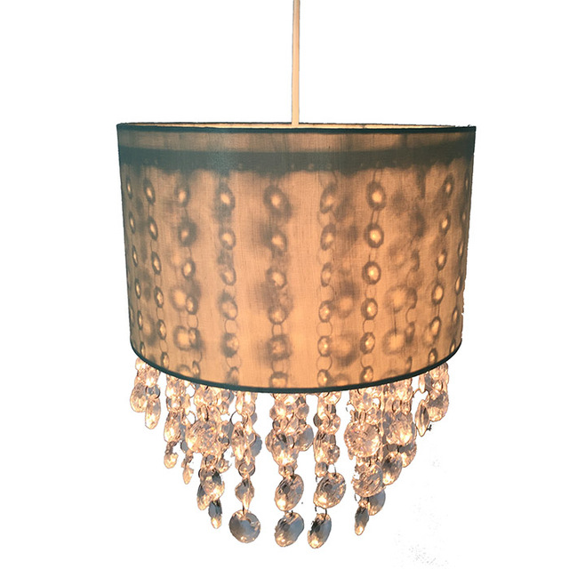 Buy cheap china decorating lamp shades crystal lamp products find wedding decorative lampshade chandelier bulk crystal beads lamp shade aloadofball Image collections
