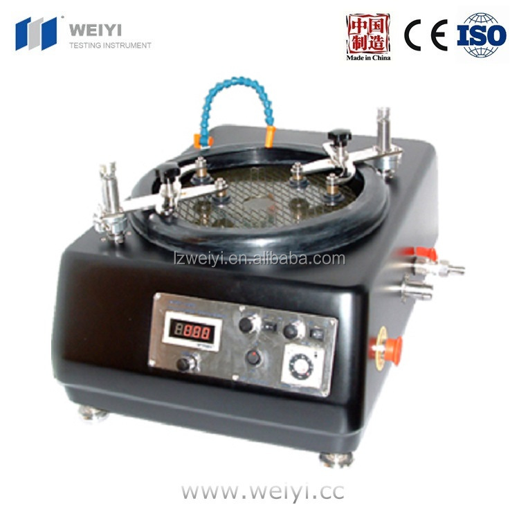 "HB-PM-1202 12"" Precision Auto Lapping/Polishing Machine with Two 4"" Work Stations Grinding machine"