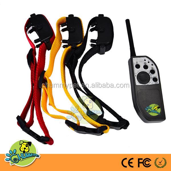 E-533 Remote 3 Dog Training Shock And Vibration Collar Dog ...