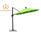 Leisure Ways Deluxe Solar Power Chinese Parasol With Rotating Device And Cross Base