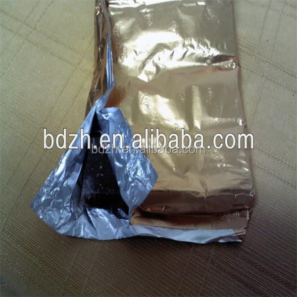 Brown Kraft Paper Bags for Coffee, Tea, Candy, Biscuit, Aluminum Foil Laminated, Moisture-proof