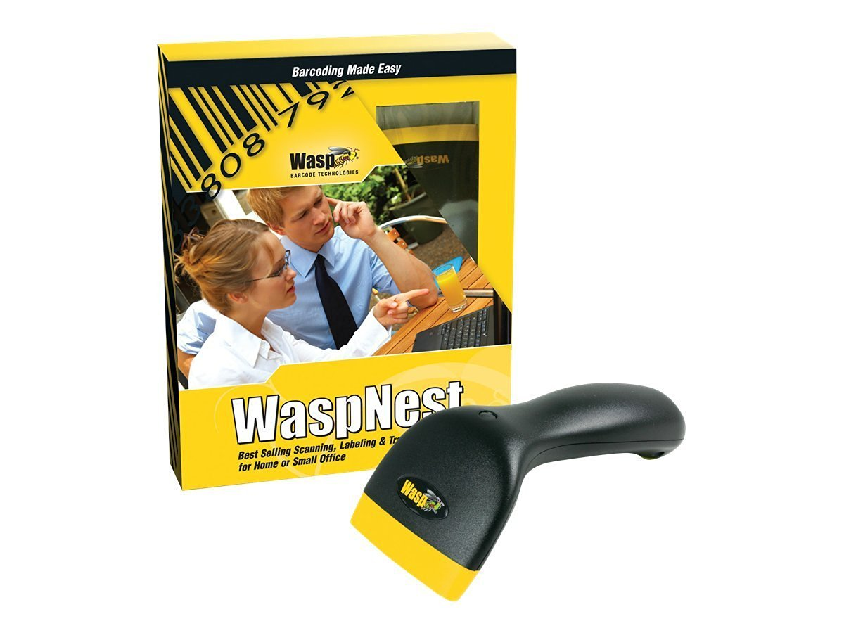 Wasp Nest WCS 3900 CCD Barcode Scanner Suite