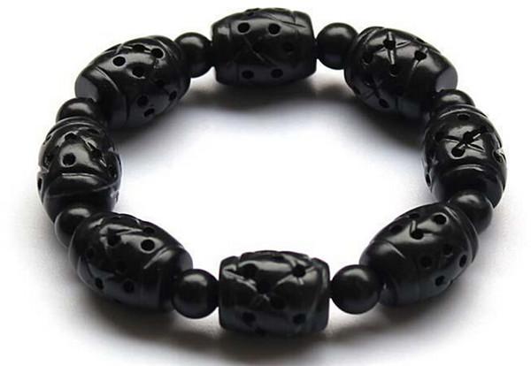 Бянь камень традиционная китайская медицина выскабливание масла Daubed камень игла браслет для здоровья и красоты уход за кожей
