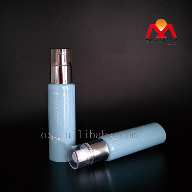 SPECIAL STYLE FOR MAN skin milk tube with airless pump tube packaging apply to lotion tube