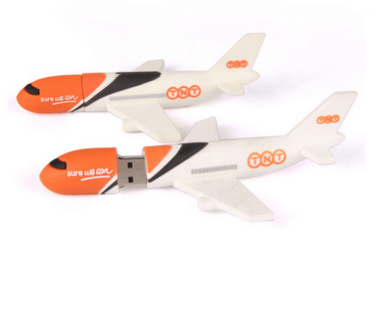 New plane shape Twist 16gb USB flash drive fly disk flash memory stick